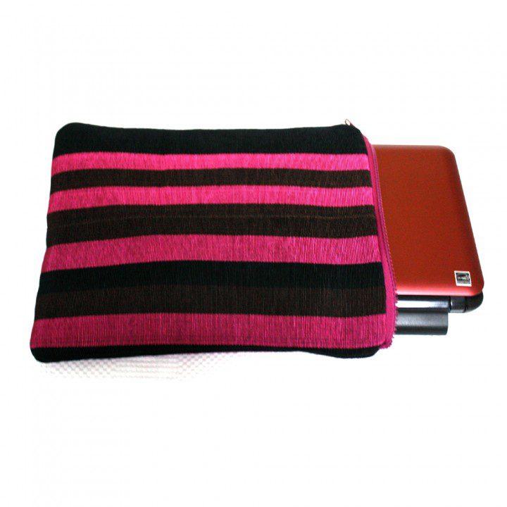 pink zebra gadget sleeve