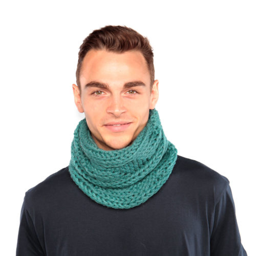 Dark Teal Cowl