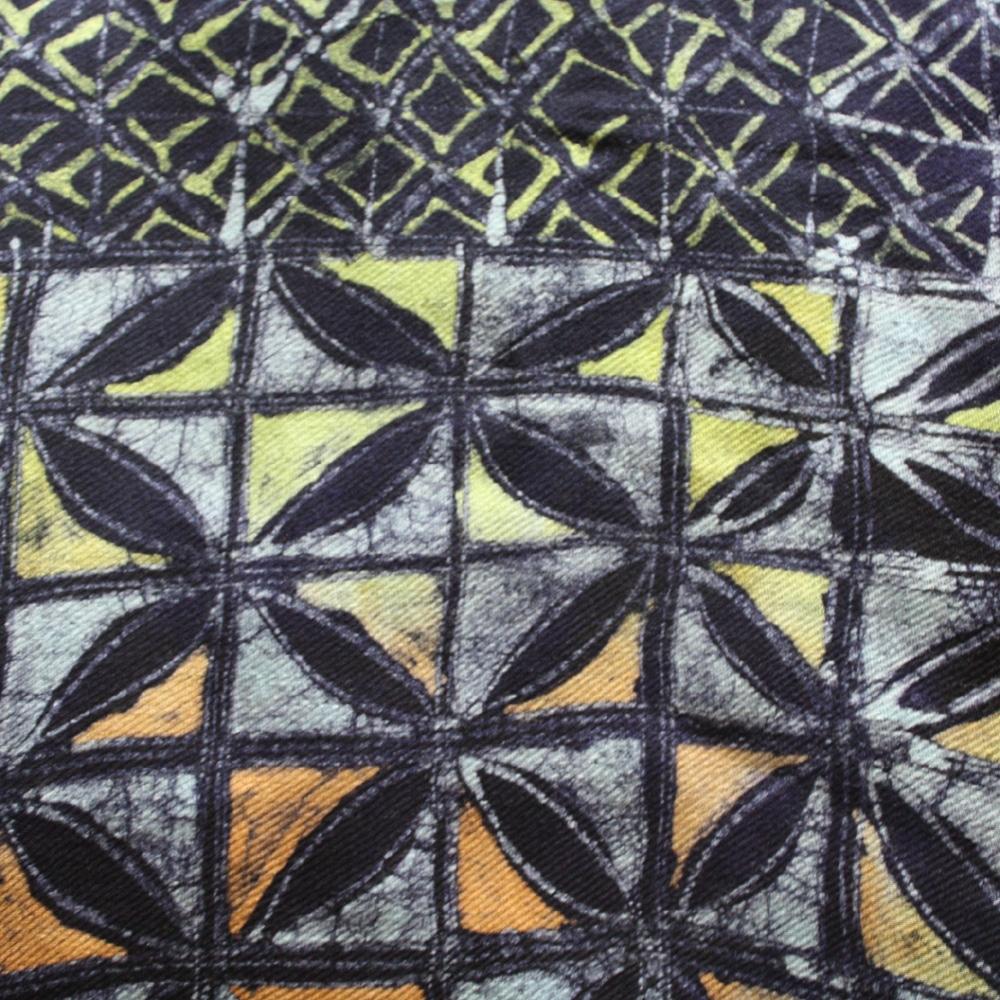 Urbanknit African Violet Splash Shawl