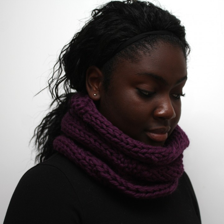 Wildberry Wool Cowl