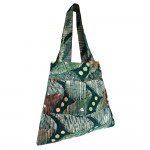 Green African Print Tote bag