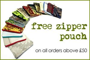 free zipper offer