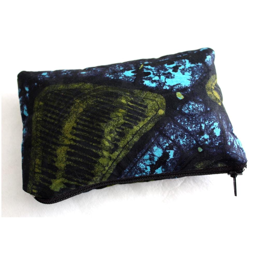 Batik Zipper Pouch