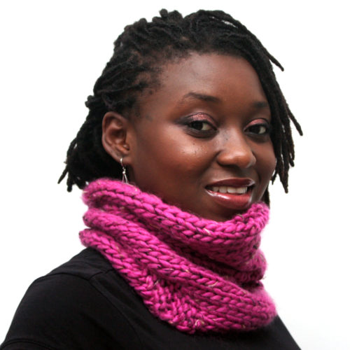 Pink Wool Snood