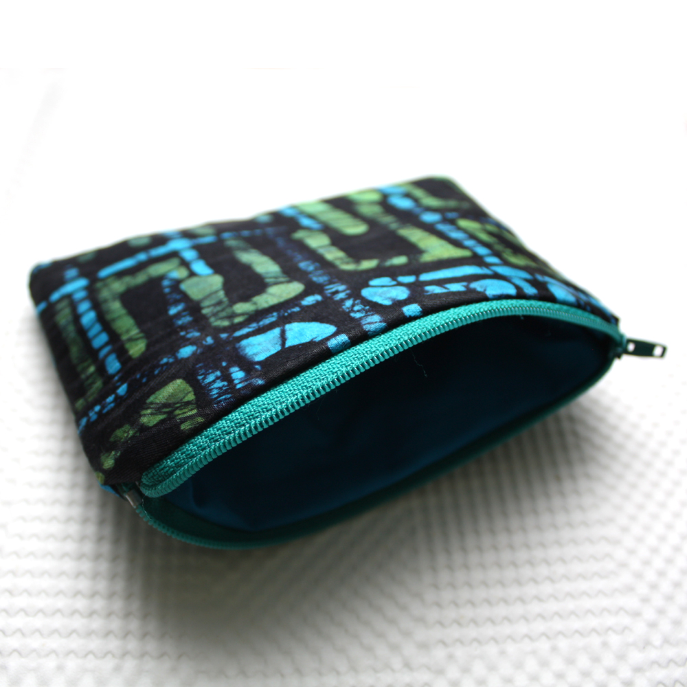 Green Blue Zipper