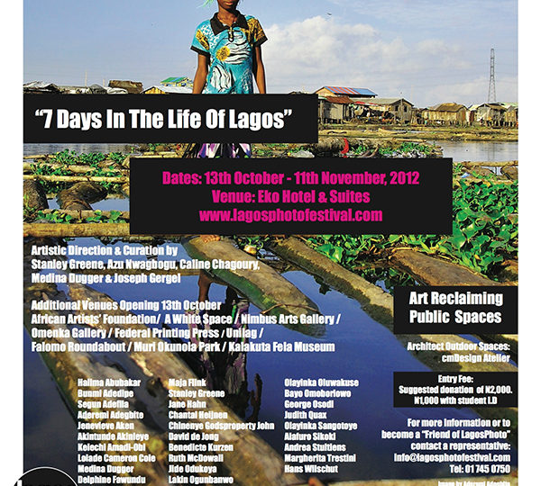 LagosPhoto 2012: 'Seven Days in the Life of Lagos'