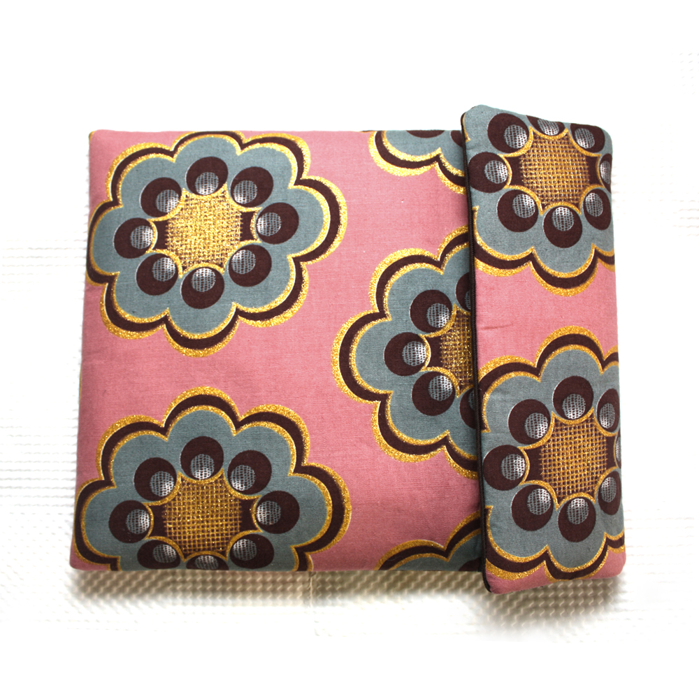 iPad Sleeve- Teal Bloom Print