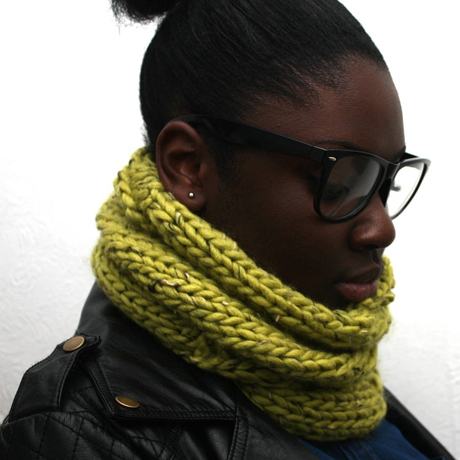 Lime Green Cowl