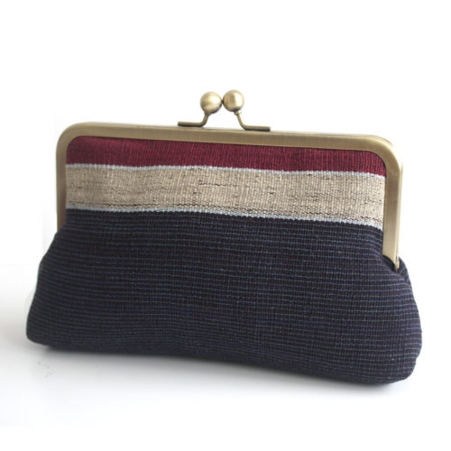 Aso oke Clutch bag