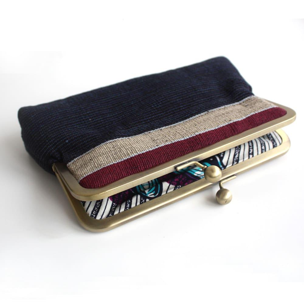 Aso oke Clutch purse