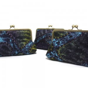 Purple Thames Mini Snap Clutch