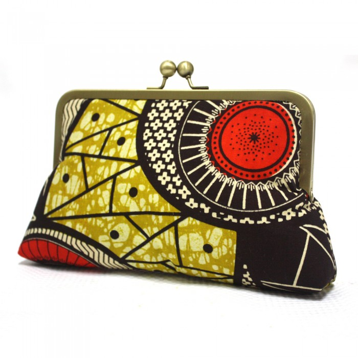 Colourful Clutch Bag
