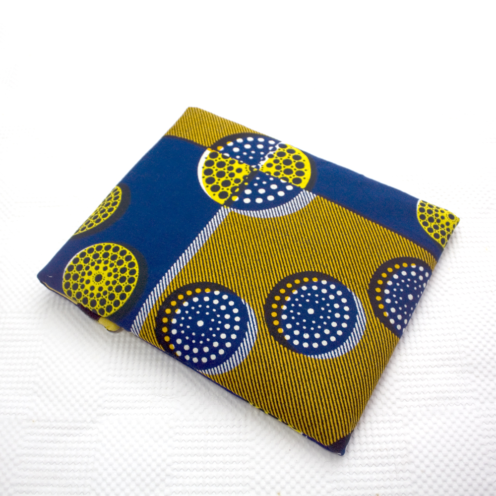 Blue Circles iPad Sleeve