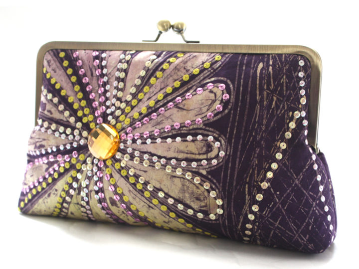 Back In Stock: Lilac Petals Supersnap Clutch