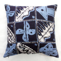 Blue Batik Cushion