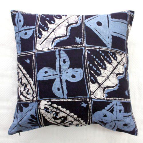 Blue Batik Cushion