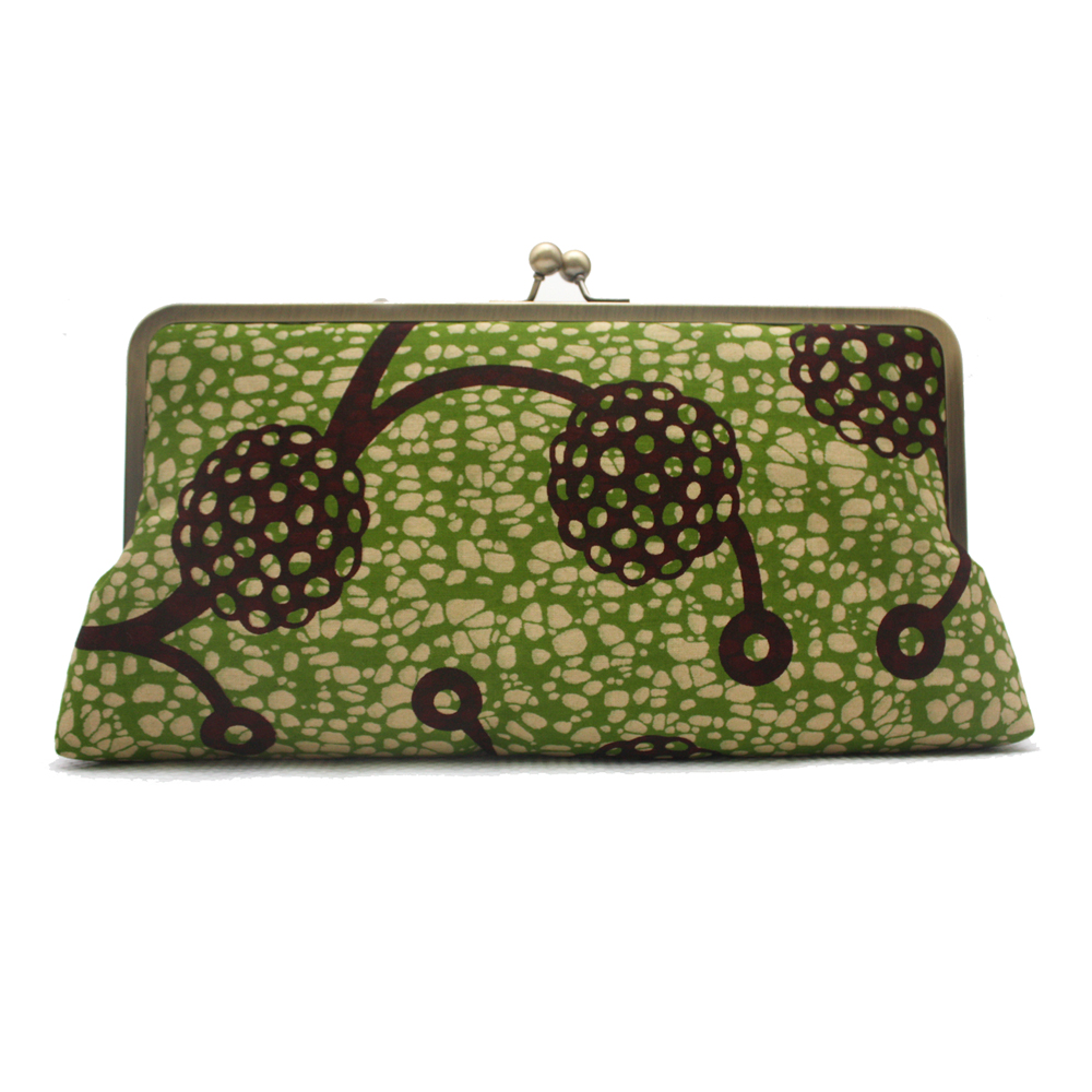 Lime Chocolate Megasnap Clutch