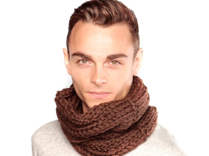 Item of the Week: Chocolate Brown Wool Snood