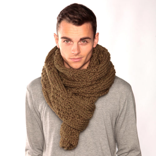 Army Green Scarf