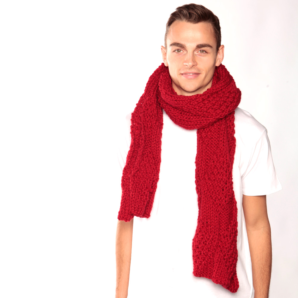 How To Tie A Long Knit Scarf How To