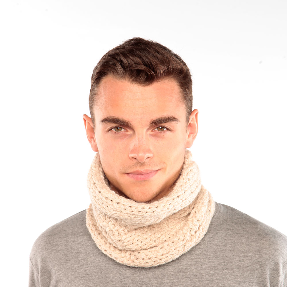 Cream Alpaca Snood