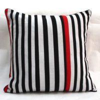 Red Zebra Cushion