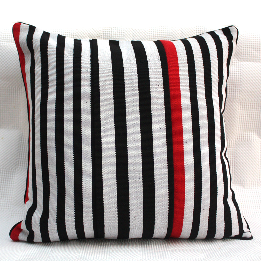 Red Zebra Cushion
