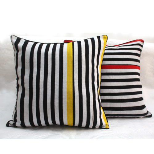 Zebra Pop Cushions
