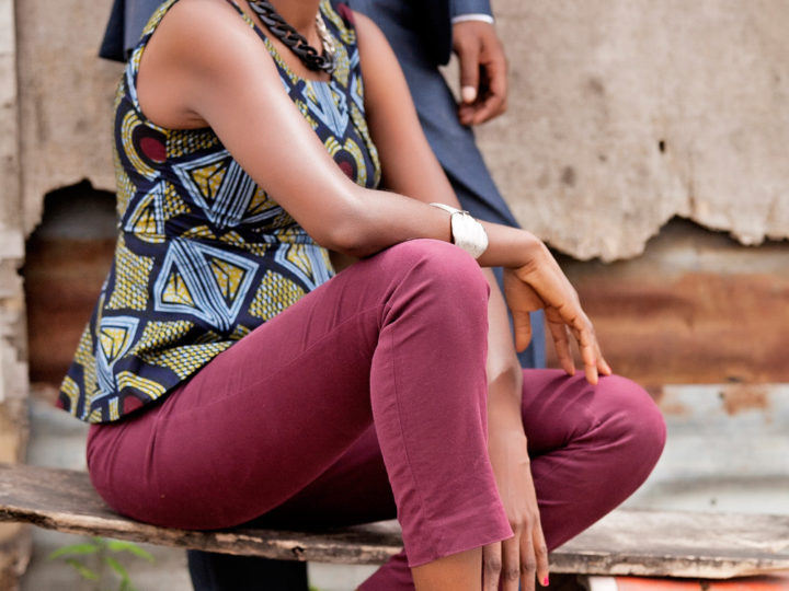 How to rock an Ankara Peplum top