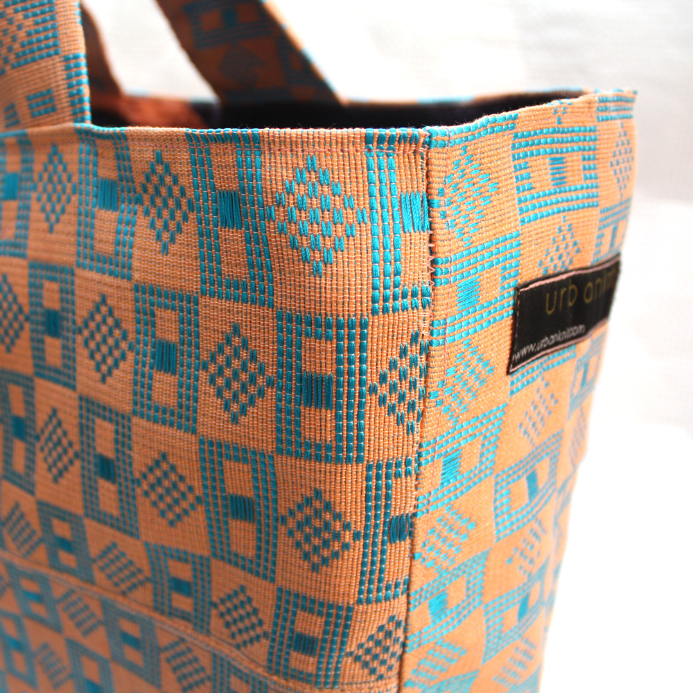 Peach Tommy Tote