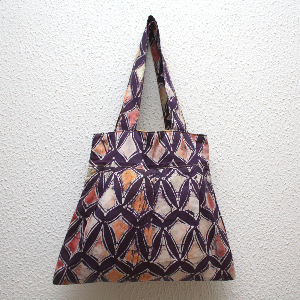 Batik Diamonds Bee Bag