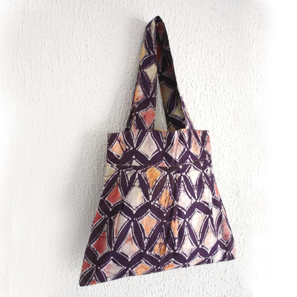 Batik Diamonds Bee Bag