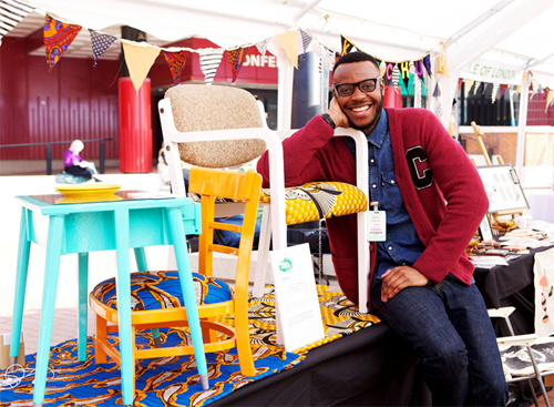 Upcycling Workshop with Yinka Ilori