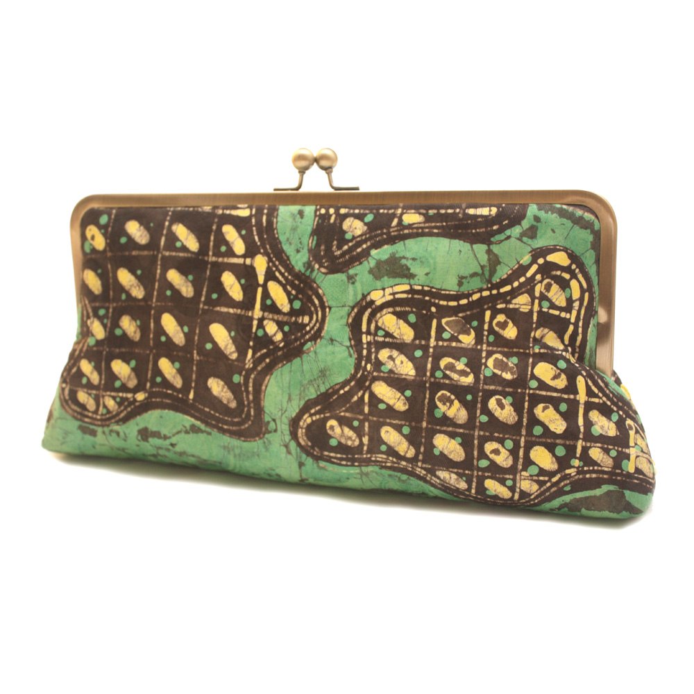 Green River Batik Megasnap Clutch