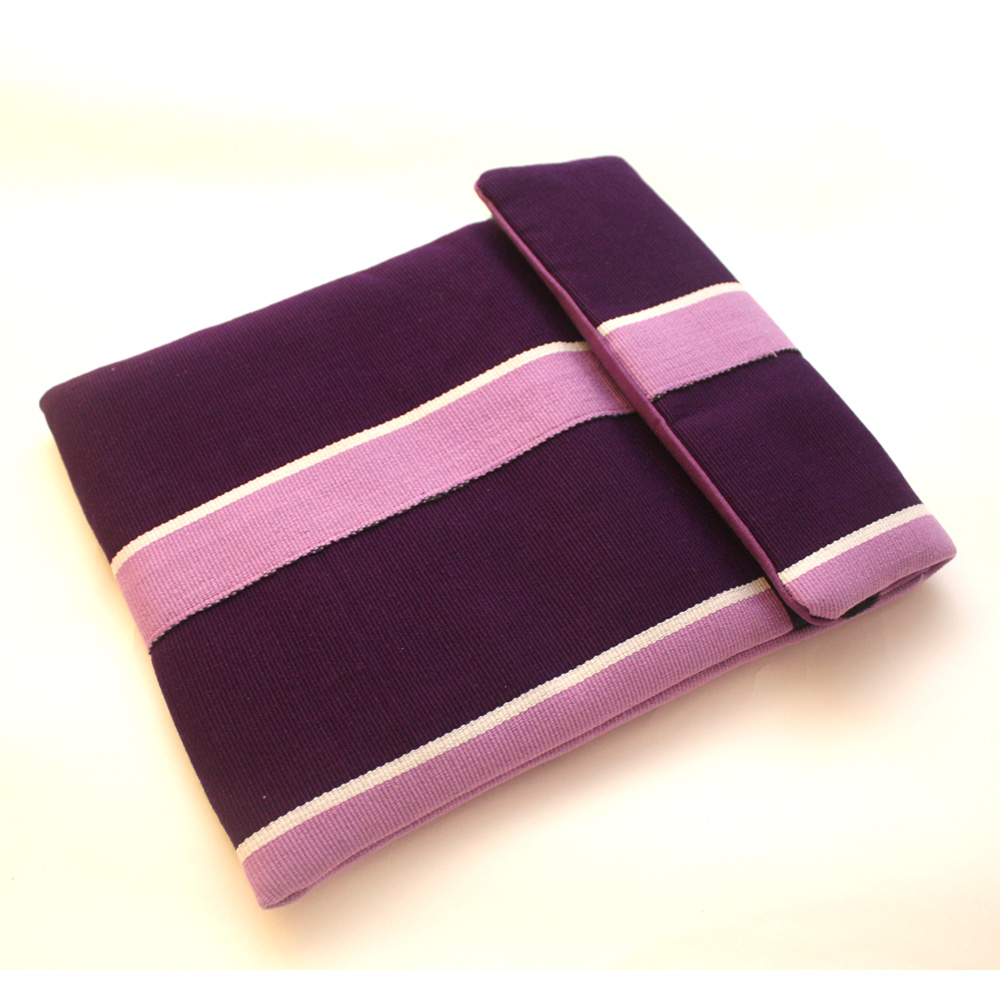 Radiant Orchid iPad Sleeve in Aso Oke