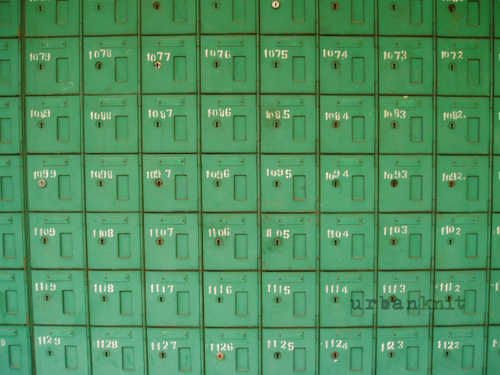 Vinatge Yaba Post Office Boxes
