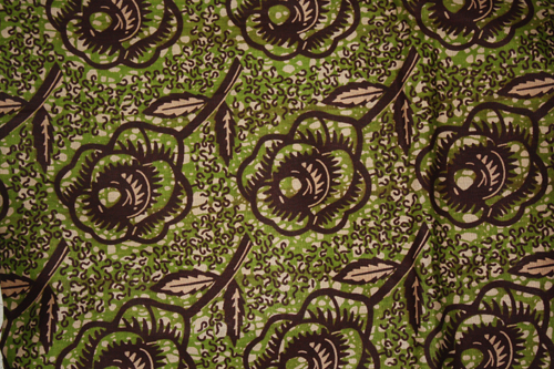 Fabric of the week: Chocolate Roses Ankara