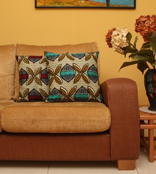 Ankara Seed African Print Cushions