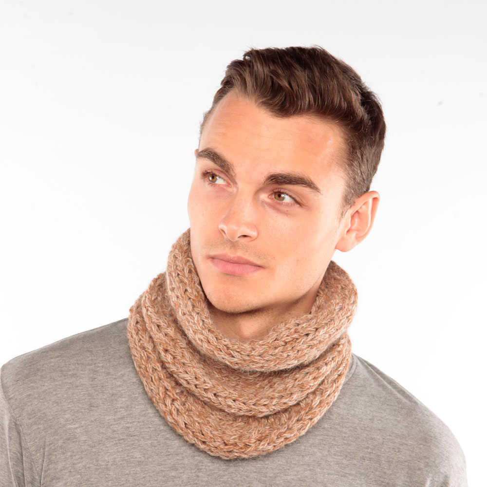 Butterscotch Alpaca Snood
