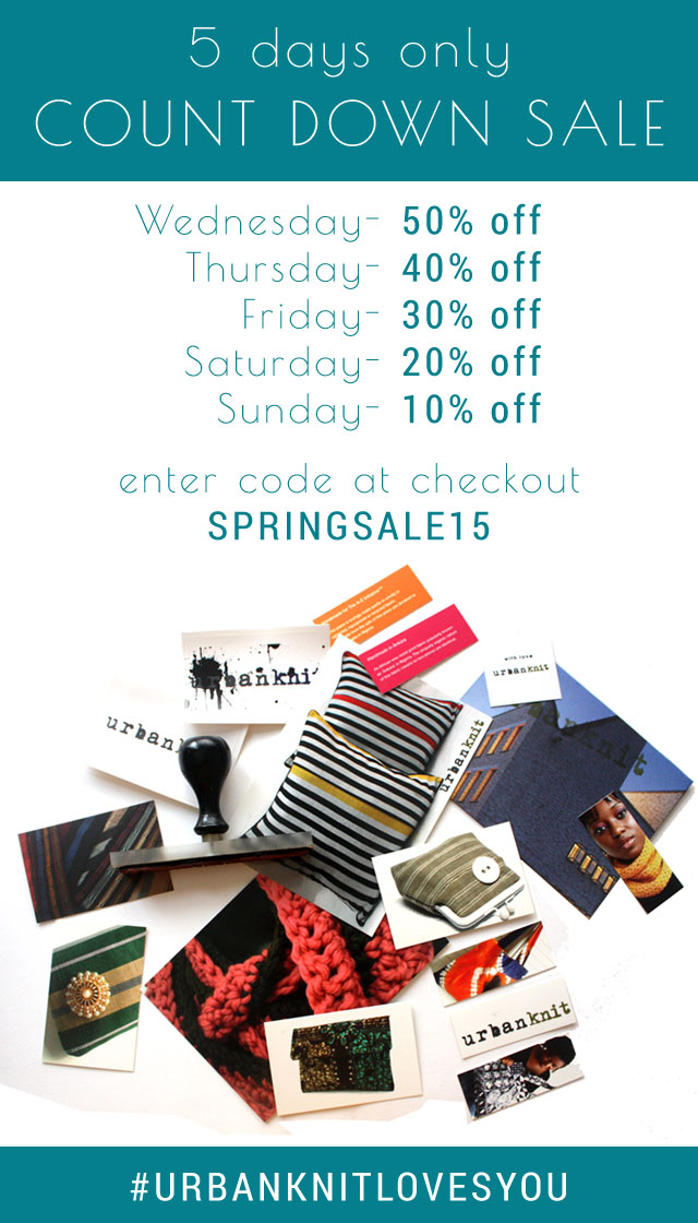 Urbanknit Spring Sale