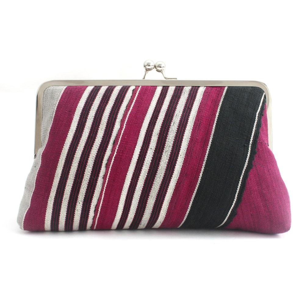 Aso-oke Clutch bag