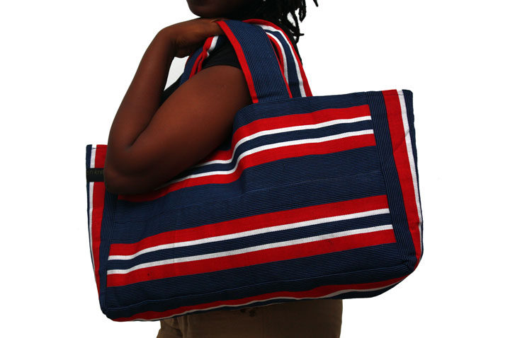 No more plastic bags- get a Tommy tote