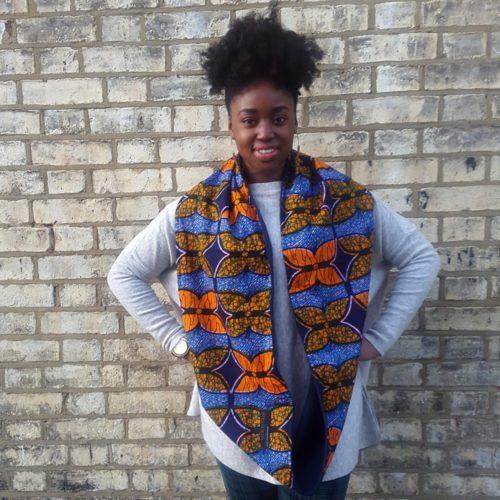 African print snood