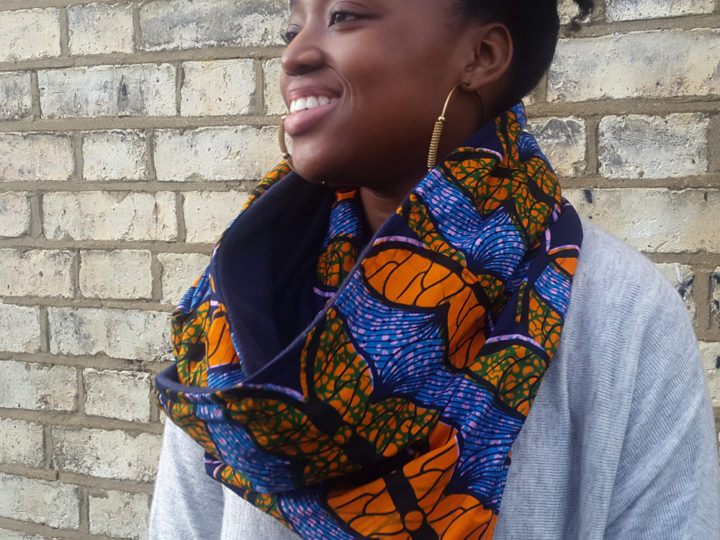 Just In: African Print Snood