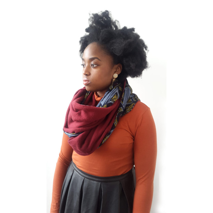 Ankara Snood scarf