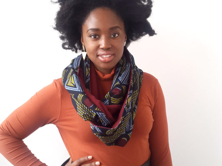 Just in: Ankara Snood Scarf