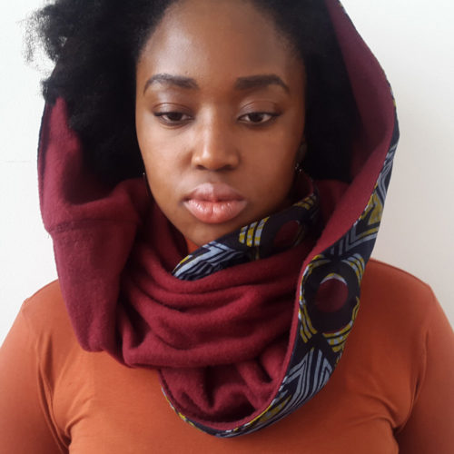 Ankara Snood scarf