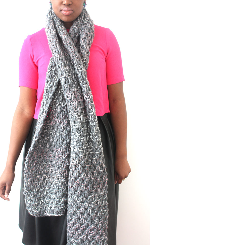 Urbanknit-Grey-Mix-scarf