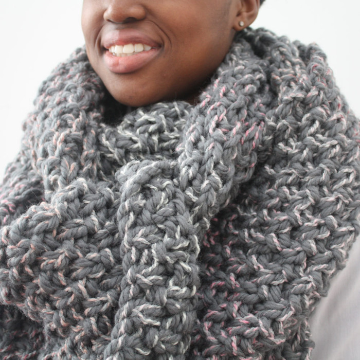 Big Grey Scarf