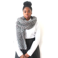 Grey Mix scarf